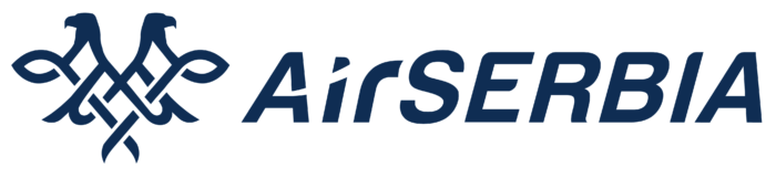 Air Serbia logo, logotype