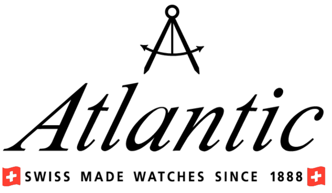 Atlantic Watches logo, logotype