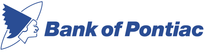 Bank of Pontiac logo