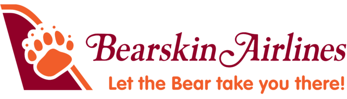 Bearskin Airlines logo, logotype