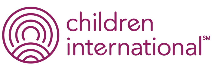 Children International logo, symbol