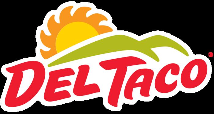 Del Taco logo, logotype
