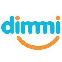 Dimmi logo, logotype