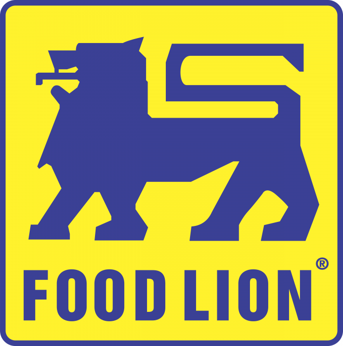 Food Lion logo blue