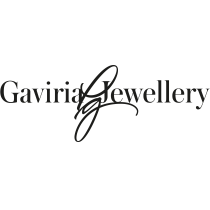 Gaviria Jewellery logo, logotype