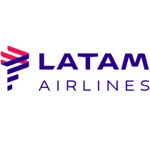 LATAM Airlines logo, wordmark