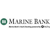 Marine Bank logo, logotype