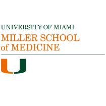 Miller School of Medicine logo (University of Miami)
