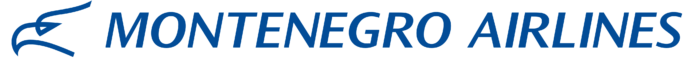 Montenegro Airlines logo, wordmark