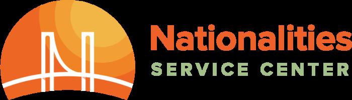Nationalities Service Center logo (NSC)