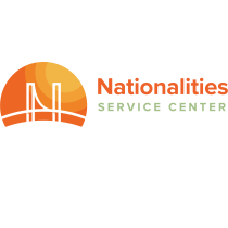 Nationalities Service Center logo (NSC)
