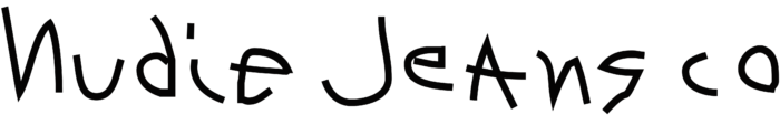 Nudie Jeans logo, wordmark