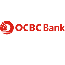 OCBC Bank logo, logotype (Singapore)
