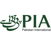 PIA logo, Pakistan International Airlines logotipo