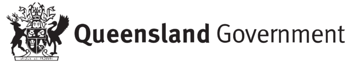Queensland Government logo, logotype
