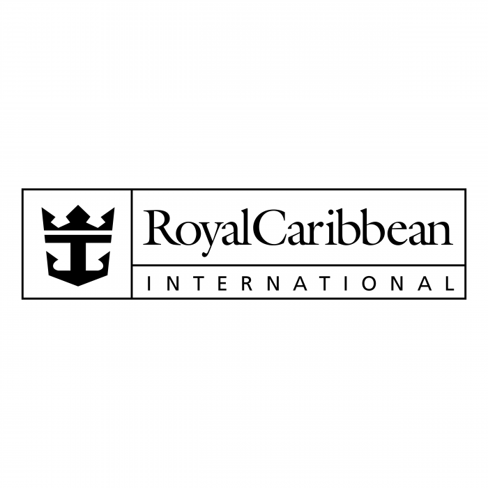 Royal Caribbean logo black