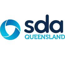 SDA Queensland logo, logotype