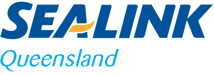 SeaLink Queensland logo, logotype