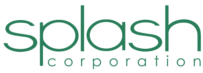 Splash Corporation logo, logotipo
