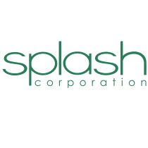 Splash Corporation logo, logotipo