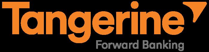 Tangerine Bank logo, logotype