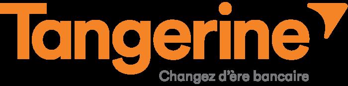 Tangerine Bank logo, logotype (french)