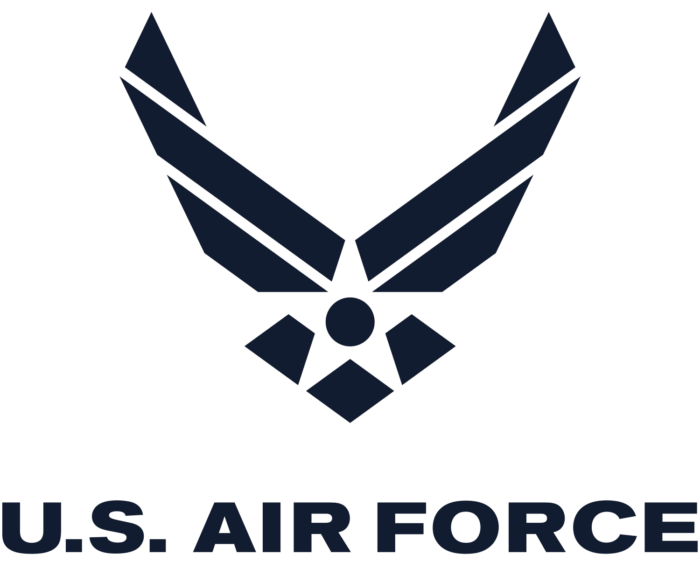 U.S. Air Force logo, logotype (USA)