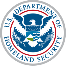 U.S. Department of Homeland Security logo, seal, crest