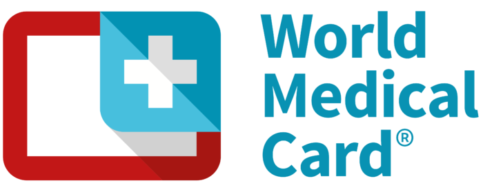 WMC World Medical Card logo, logotipo