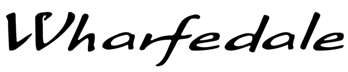 Wharfedale logo, logotype