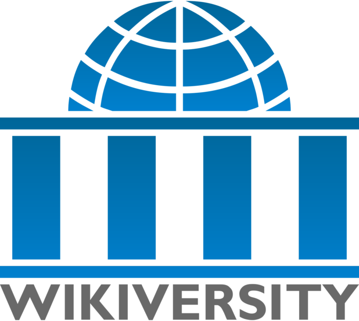 Wikiversity logo, logotype