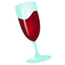 Wine logo (WineHQ)