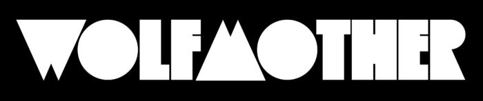 Wolfmother logo, black-white