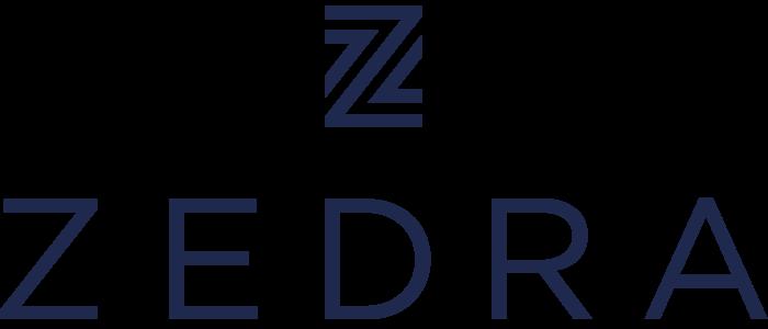Zedra logo, logotipo