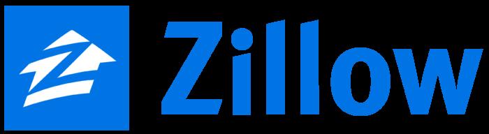 Zillow logo, wordmark