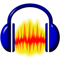 Audacity logo, icon