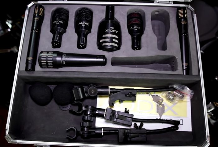 Audix Microphones kit photo