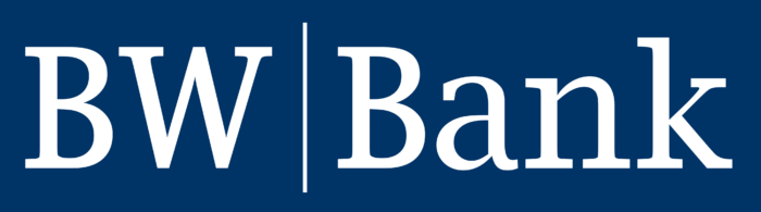 BW Bank logo, blue
