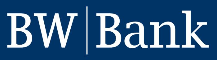 BW Bank logo, blue