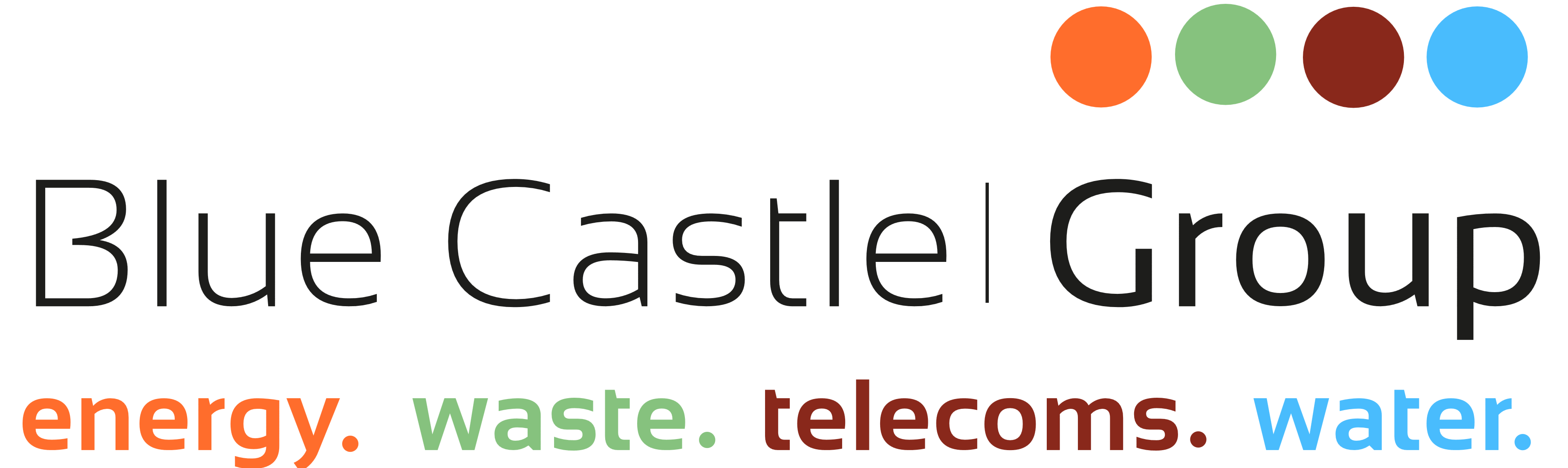blue castle group waste management – logos download