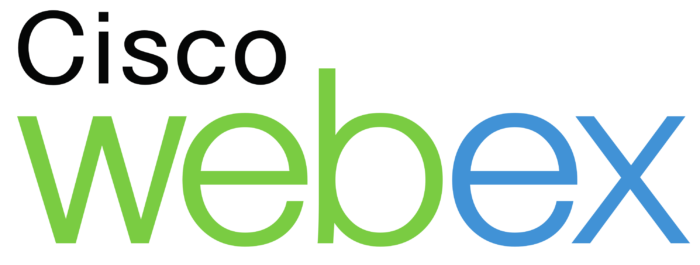 Cisco Webex logo, wordmark
