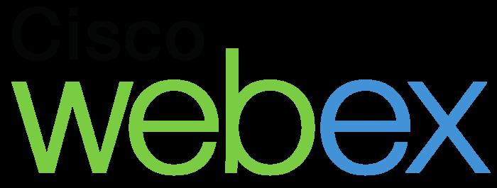 Cisco Webex logo, wordmark