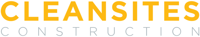 CleanSites Construction logo