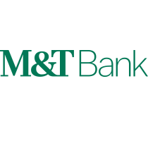 M&T Bank logo, logotype