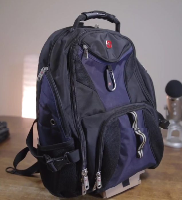 Swissgear backpack photo