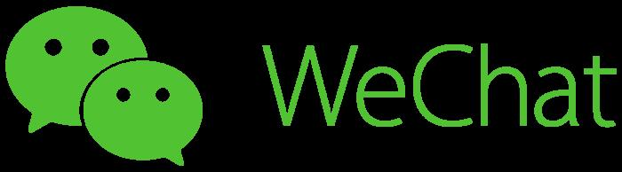WeChat logo, wordmark