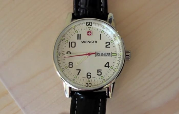 Wenger watch photo