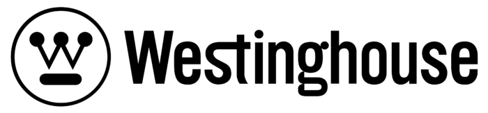 Westinghouse Electric Corporation logo, black