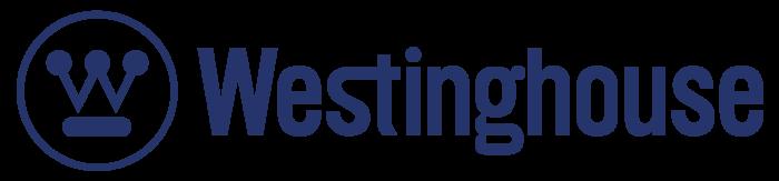 Westinghouse Electric Corporation logo, blue