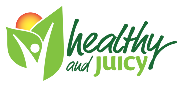 Healthy and Juicy logo